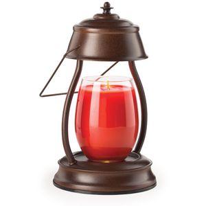 Hurricane Candle Warmer Lantern Rustic