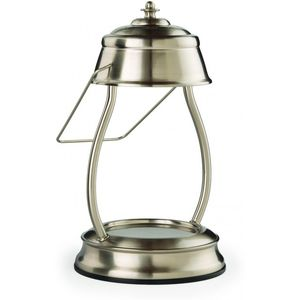 Hurricane Candle Warmer Lamp - Brushed Nickel