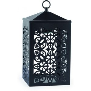 Electric Candle Warmer Lamp For Jar Candles - Black Scroll Lantern