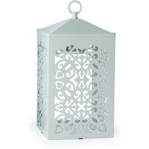 Scroll Candle Warmer Lamp White