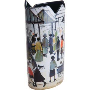 John Beswick Vase - Lowry Market Scene