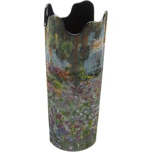 John Beswick Monet - Irises in Garden Vase