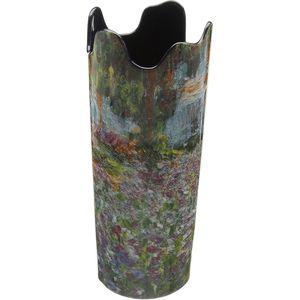 John Beswick Vase - Monet Irises in Garden