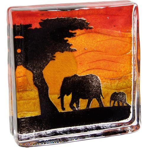 Safari Elephants Glassware Dartington Crystal