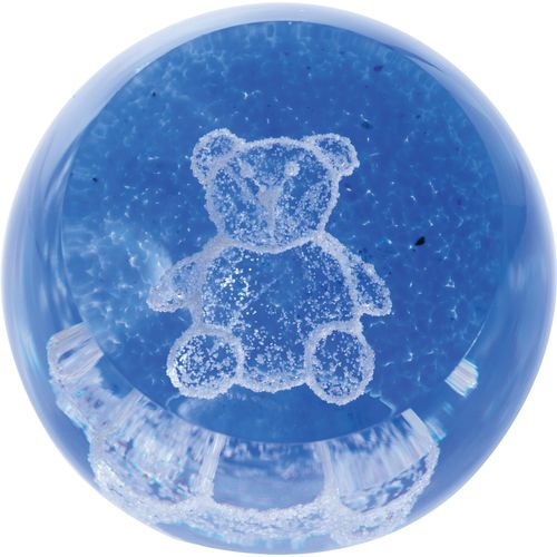Special Moments Teddy Blue Paperweight