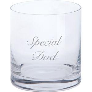 Dartington Crystal Tumbler Glass: Special Dad