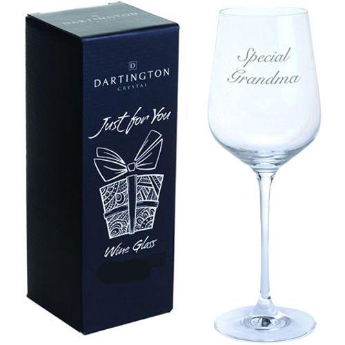 Wine Glass - Special Grandma Glassware Gift