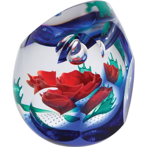 Caithness Glass Paperweight: Remembrance Reflections of War