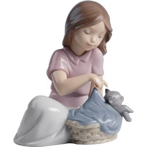 Nao Sleep Little Cat Figurine