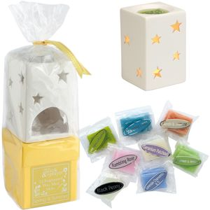 On A Wick & A Prayer Wax Melt Burner Gift Set - Summer