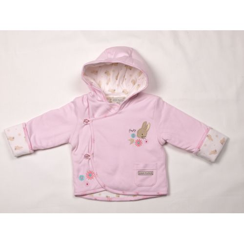 Beatrix Potter Peter Rabbit Flopsy Bunny Baby Girls Hooded Jacket Age  0-3 months