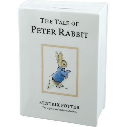 Book style Peter Rabbit Beatrix Potter Money Box