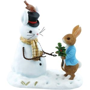 Peter Rabbit & Snow Rabbit Figurine