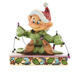 Disney Traditions Light Up The Holidays Dopey Figurine