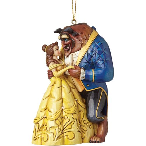 Disney Traditions Beauty (Belle) & The Beast (Hanging Ornament)