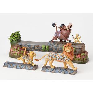 Carefree Camaraderie (Simba, Timon & Pumba Figurine)