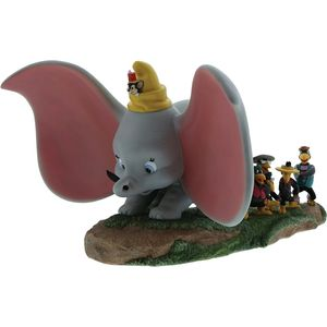 Take Flight Dumbo, Timothy, Jim Crow & Brothers Figure
