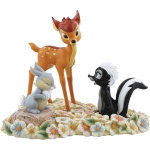 Disney Enchanting Pretty Flower (Bambi, Thumper, & Flower) Figurine
