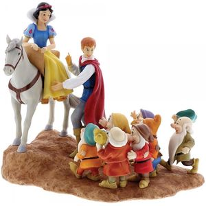 Disney Enchanting Scene Figurine - Joyful Farewell (Snow White & Seven Dwarfs)