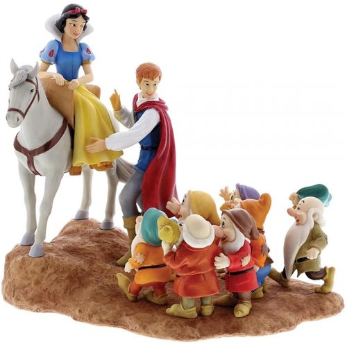 Disney Enchanting Scene Farewell Snow White & Seven Dwarfs
