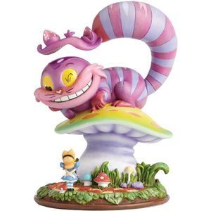 Miss Mindy Disney Cheshire Cat & Alice Figurine