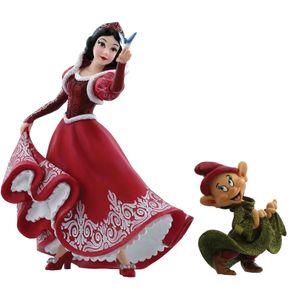 Disney Showcase Christmas Figurines Set - Snow White & Dopey