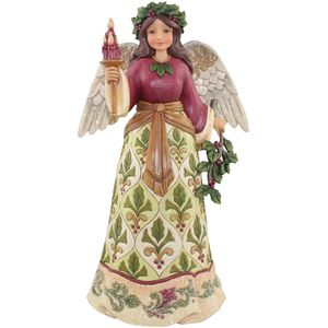 Heartwood Creek Angel Figurine - Jolly Holly Days