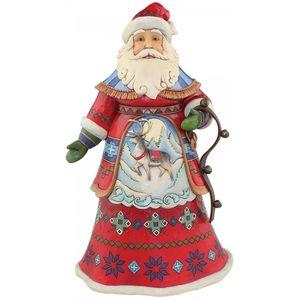 Heartwood Creek Santa Figurine Joyful Journey
