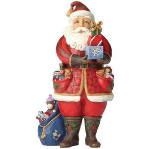Heartwood Creek Santa Figurine - As You Wish Figurine