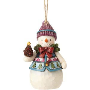 Heartwood Creek Hanging Ornament Mini Snowman
