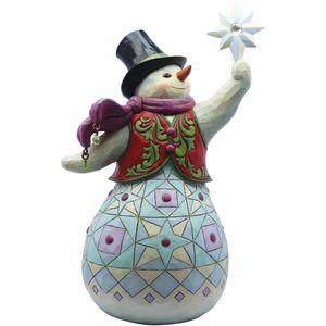 Heartwood Creek Snowman Figurine Like Sno-Other