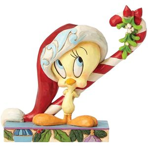 Looney Tunes Candy Cane Cutie (Tweety pie) Figurine