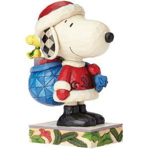 Heartwood Creek Peanuts Figurine Snoopy Claus
