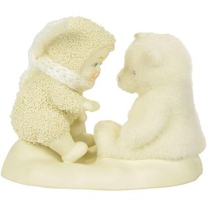 Snowbabies Figurine - Beary Good Friends
