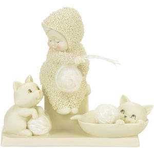 Snowbabies Fur Balls Figurine