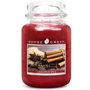 Goose Creek Large Jar Candle - Cinnamon Spice