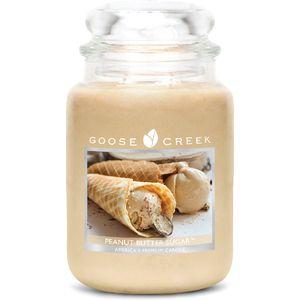 Goose Creek Large Jar Candle - Peanut Butter Sugar