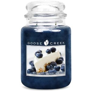 Goose Creek Large Jar Candle - Blueberry Cheesecake