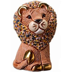 De Rosa Brown Lion Figurine