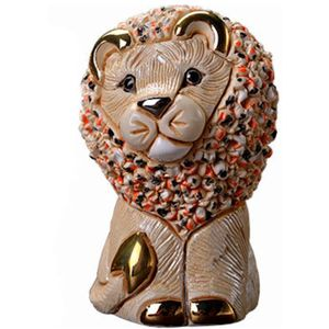 De Rosa White Lion Figurine