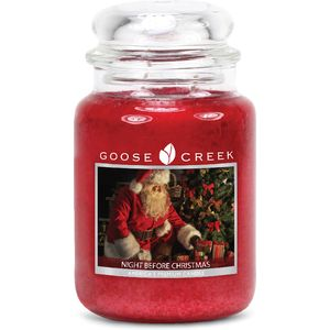 Goose Creek Large Jar Candle - Night Before Christmas