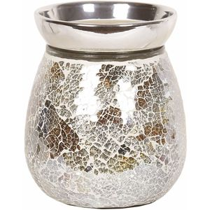 Aroma Electric Wax Melt Burner: Gold & Silver