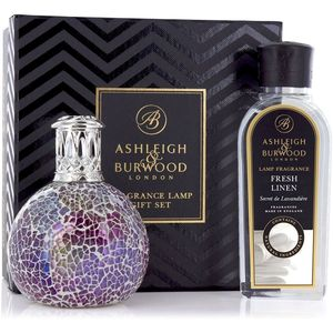 Ashleigh & Burwood Fragrance Lamp Gift Set - Pearlecense & Fresh Linen