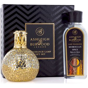 Ashleigh & Burwood Fragrance Lamp Gift Set - A Little Treasure & Moroccan Spice