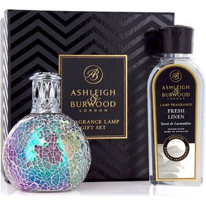 Ashleigh & Burwood Fragrance Lamp Gift Set - Fairy Ball & Fresh Linen