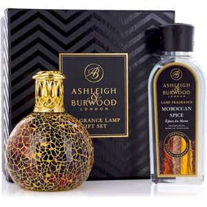 Ashleigh & Burwood Fragrance Lamp Gift Set - Golden Sunset & Moroccan Spice