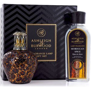 Fragrance Lamp Gift Set African Queen & Moroccan Spice