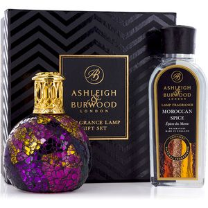 Fragrance Lamp Gift Set Magenta Crush & Moroccan Spice