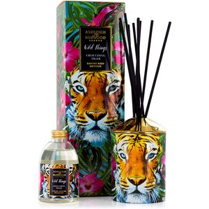 Ashleigh & Burwood Wild Things Reed Diffuser Set - Crouching Tiger