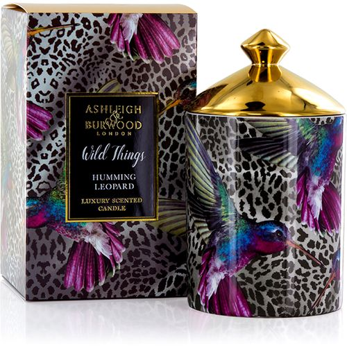 Ashleigh & Burwood Scented Candle Wild Things Collection: Humming Leopard